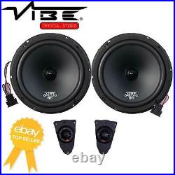 Vibe Optisound 8 Inch 360w Car Stereo Speaker Upgrade Fitting Kit for VW T5